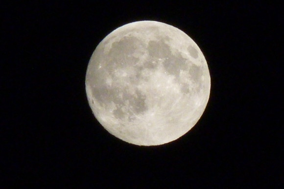 Supermoon taken at Zaton Mali, Croatia 23:00 Saturday 22nd June Photo credit: Kathy Andrew