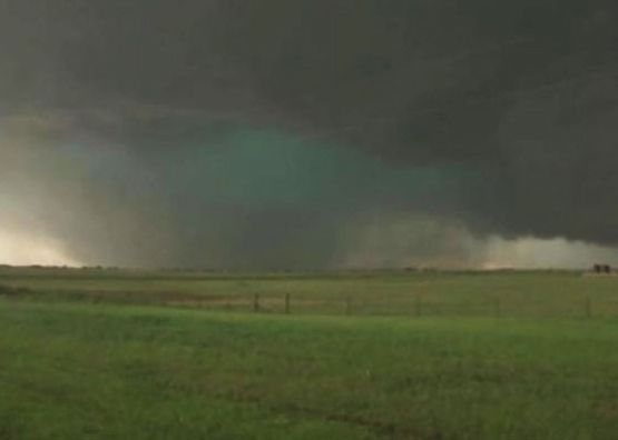 El Reno, Oklahoma tornado via Mike Bettes