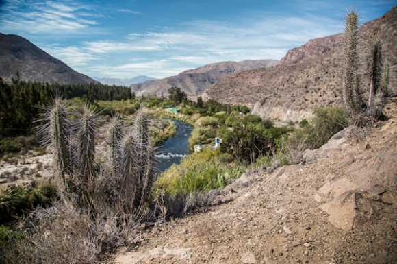 The Elqui River Valley of Northern Chile