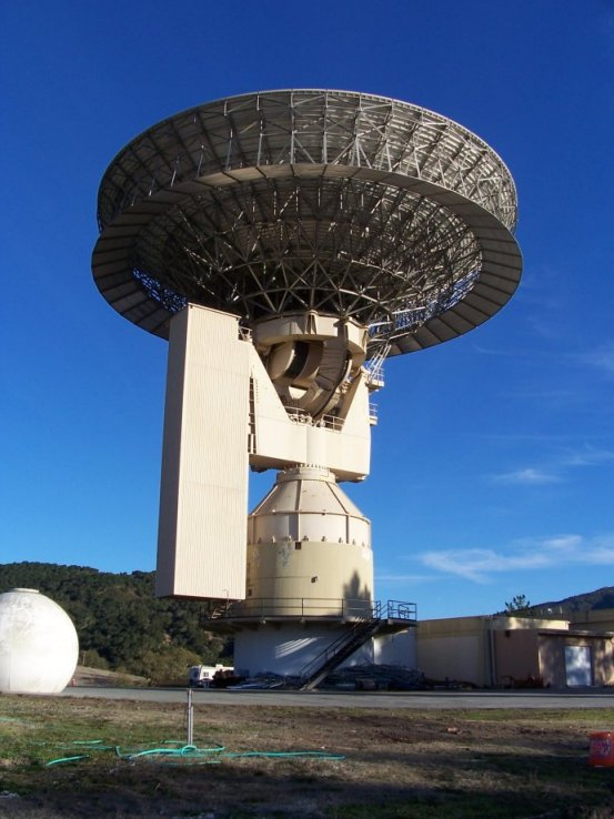 The Lone Signal will be hailing aliens via the recommissioned radio dish at the Jamesburg Earth Station in Carmel, California. This dish helped carry words of the Apollo moon landings live to the world.