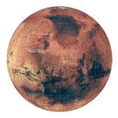 Location of Kasei Valles on Mars, via ESA.
