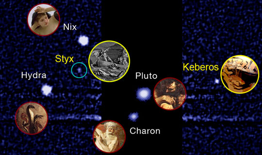 Pluto's smallest moons receive their official names