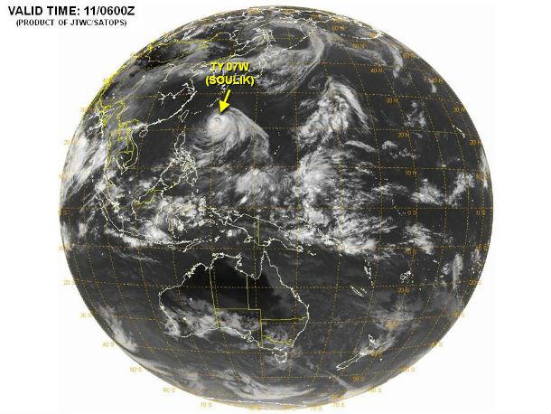 Typhoon Soulik approaching China on EarthSky | Earth | EarthSky
