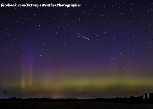 aurora-alongside-meteor-Jeremy-Friebel