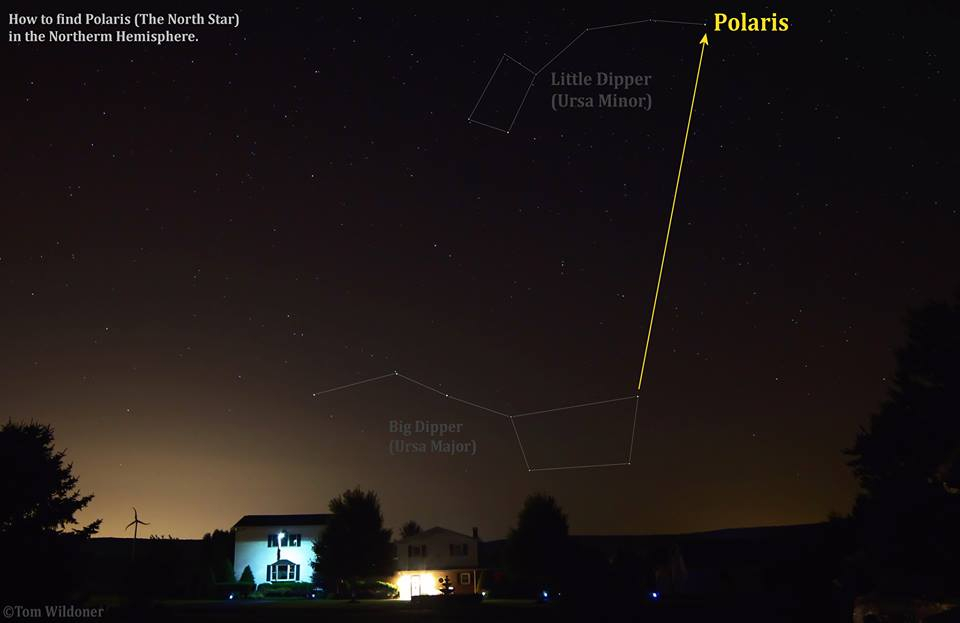 find the north star polaris - photo #30