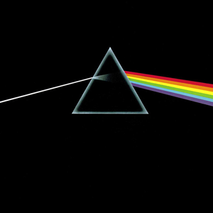 Many music fans know a true dark side of the moon: the eighth studio album by the English progressive rock band Pink Floyd, released in March 1973.  This is original album artwork by Hipgnosis and George Hardie.  Via Wikimedia Commons.