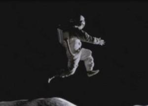 "Nike's ""Moon Jump.""  See video here."