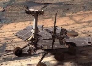 Happy 10-year anniversary, Opportunity!  Image via NASA