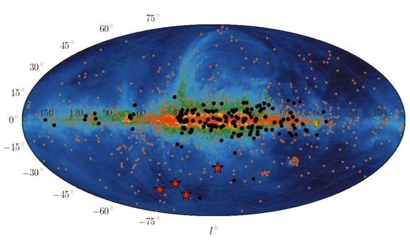 radio-map-Galactic-coordinates