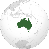 Australia. Image Credit: Wikipedia