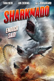 Sharknado movie poster. Image credit: The Asylum, via Wikimedia Foundation.