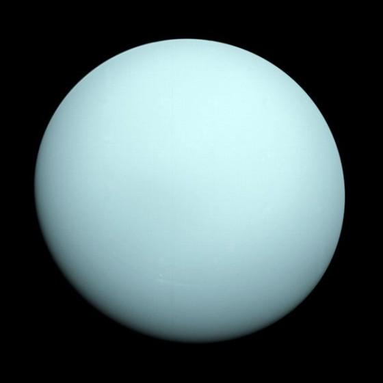 large light-blue sphere