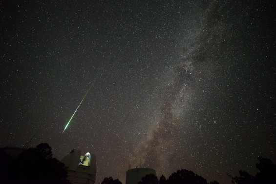 Our friend Sergio Garcia Rill of Houston captured this great shot at the University of Texas McDonald Observatory on August 11, 2013.  Thanks, Sergio!