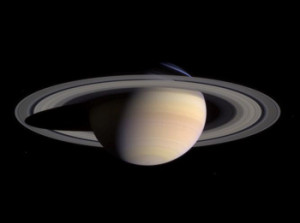 Saturn as viewed from the Cassini spacecraft. Image Credit: NASA