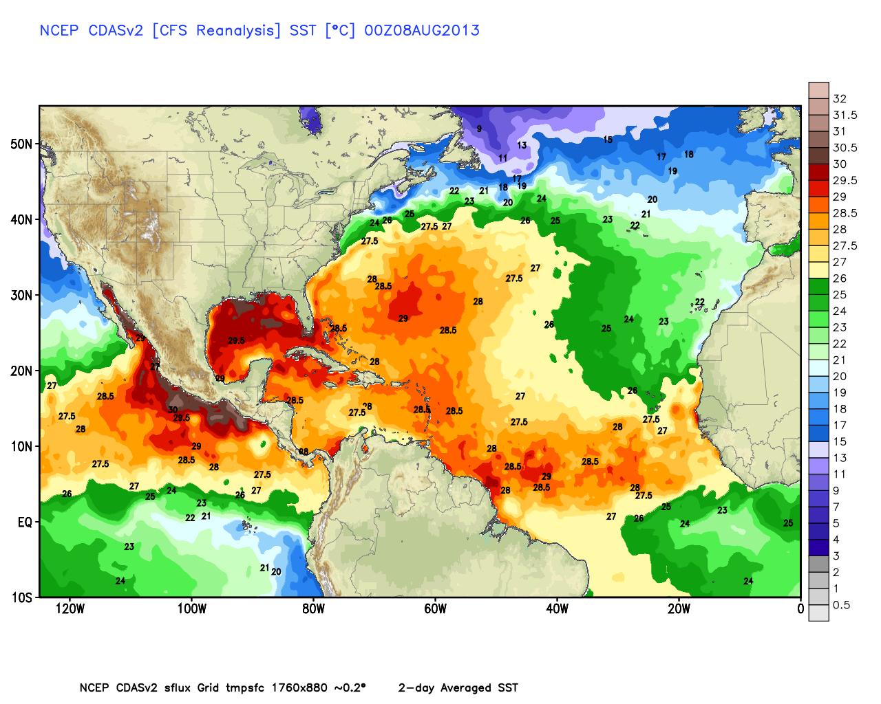 Image d'illustration pour Prévision de la saison cyclonique en Atlantique