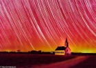 Infared-star-trails