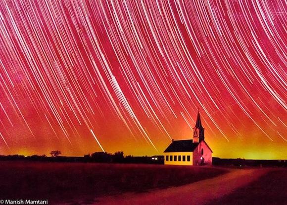 Infared-star-trails