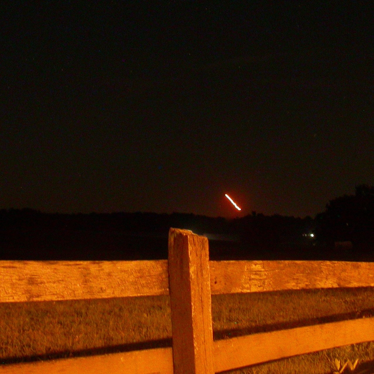 LADEE launch on September 7, 2013 as seen from Lancaster County, Pennsylvania by our friend Beth Katz. Thanks, Beth!