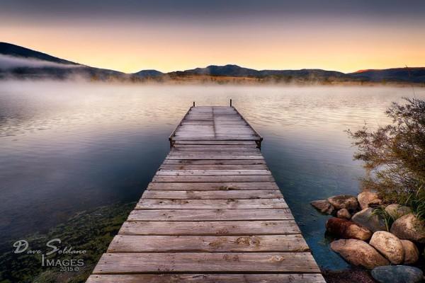 Autumn dawn. Dave Sodano wrote,