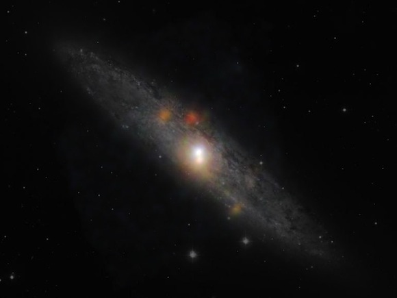 black-hole-center-sculptor-galaxy