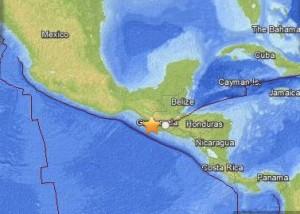 Earthquake in Guatemala, September 7, 2013