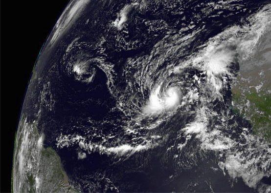 Humberto on Sept. 10, 2013 via NASA
