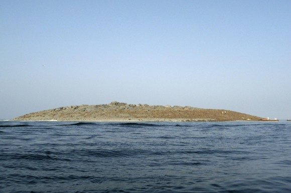 A new island, created in what one scientist called a