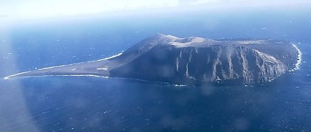 Surtsey in 1999, via Wikimedia Commons.