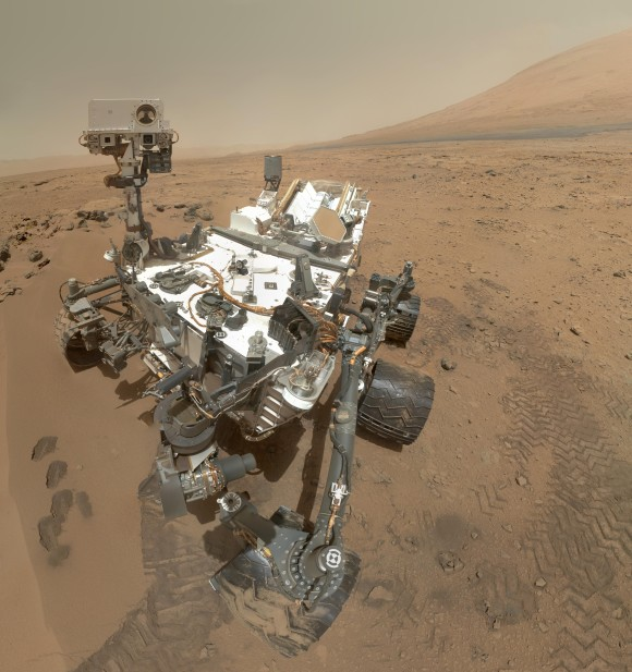 Mosaic image of Curiosity. Image Credit: NASA/JPL-Caltech/Malin Space Science Systems