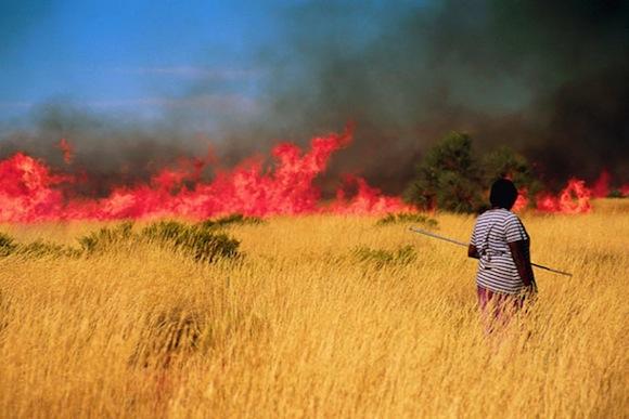 Aboriginal-fire