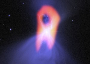 Boomerang Nebula seen with ALMA.