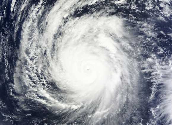 Typhoon Francisco on October 20, 2013. Image Credit: NASA WorldView