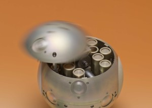 Mars-sample-container
