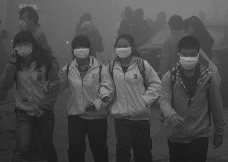 Smog disrupts life in northeast China