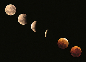 Lunar eclipse illustration courtesy of Luc Viatour