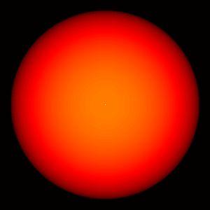 Alpha Cass, or Schedar, is an orange giant star.