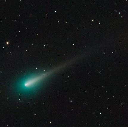 Photo of Comet ISON taken on 2013 October 8. Image credit: Adam Block/Mount Lemmon Sky Center/University of Arizona