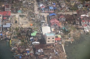 Damage in Guiuan, Philippines. Image Credit: AFP Central Command