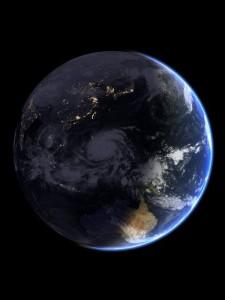 Look at Haiyan from space. Image Credit: NOAA