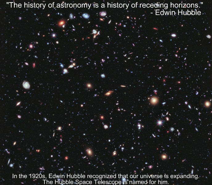 This image is the Hubble eXtreme Deep Field, released in 2012.  Read more about this image here.