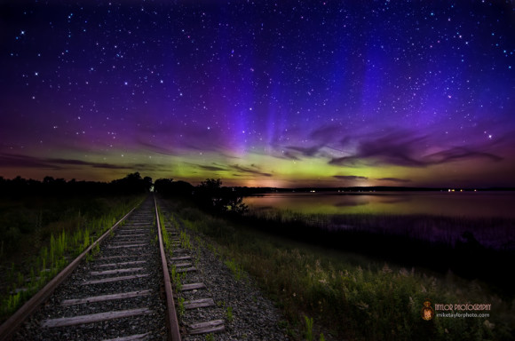 What the camera sees.  Unity Train Tracks by Mike Taylor.