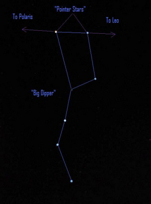 Jupiter is easy to find as the brightest starlike object up before dawn. Not sure which star is Regulus? Regulus is the brightest star in Leo. Use the Pointer Stars in the Bowl of the Big Dipper to find Leo and Regulus.