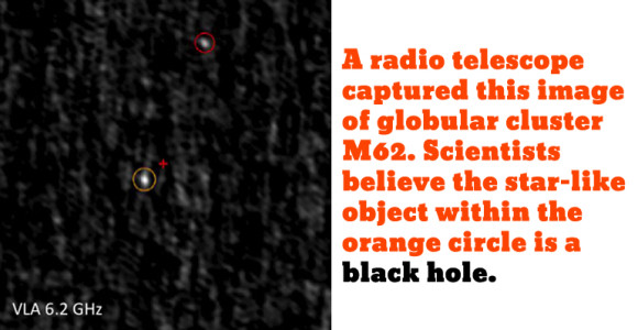 Credit: National Radio Astronomy Observatory, font by Vernon Adams