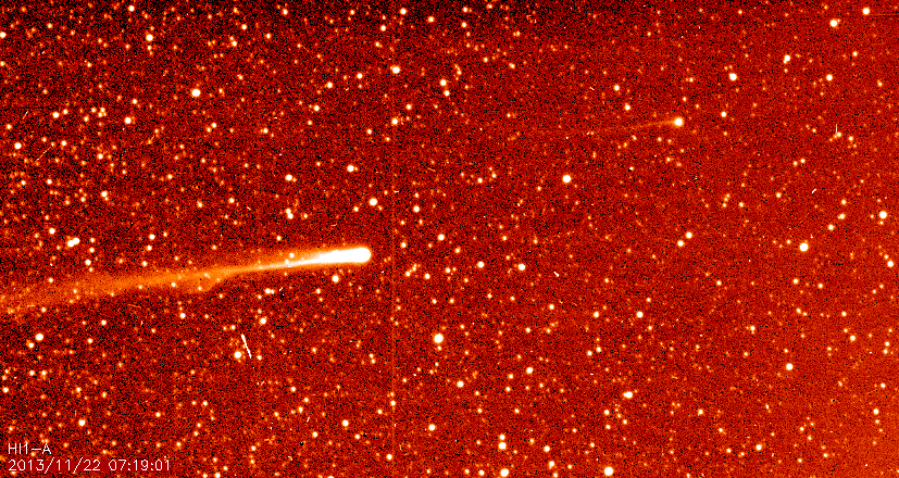 Comets ISON and Encke on November 22, 2013 via SECCHI
