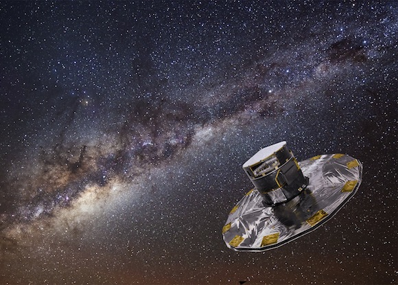 View larger. Gaia mapping the stars of the Milky Way