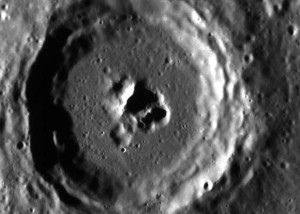 Mercury-crater