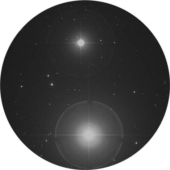 Alpha Ceti, aka Menkar, is a double star.