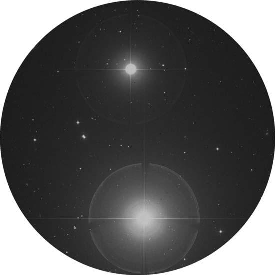 Alpha Ceti, aka Menkar, is a double star.