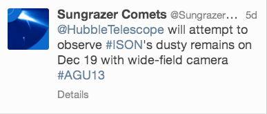 ison-hubble-sungrazer-comets-tweet