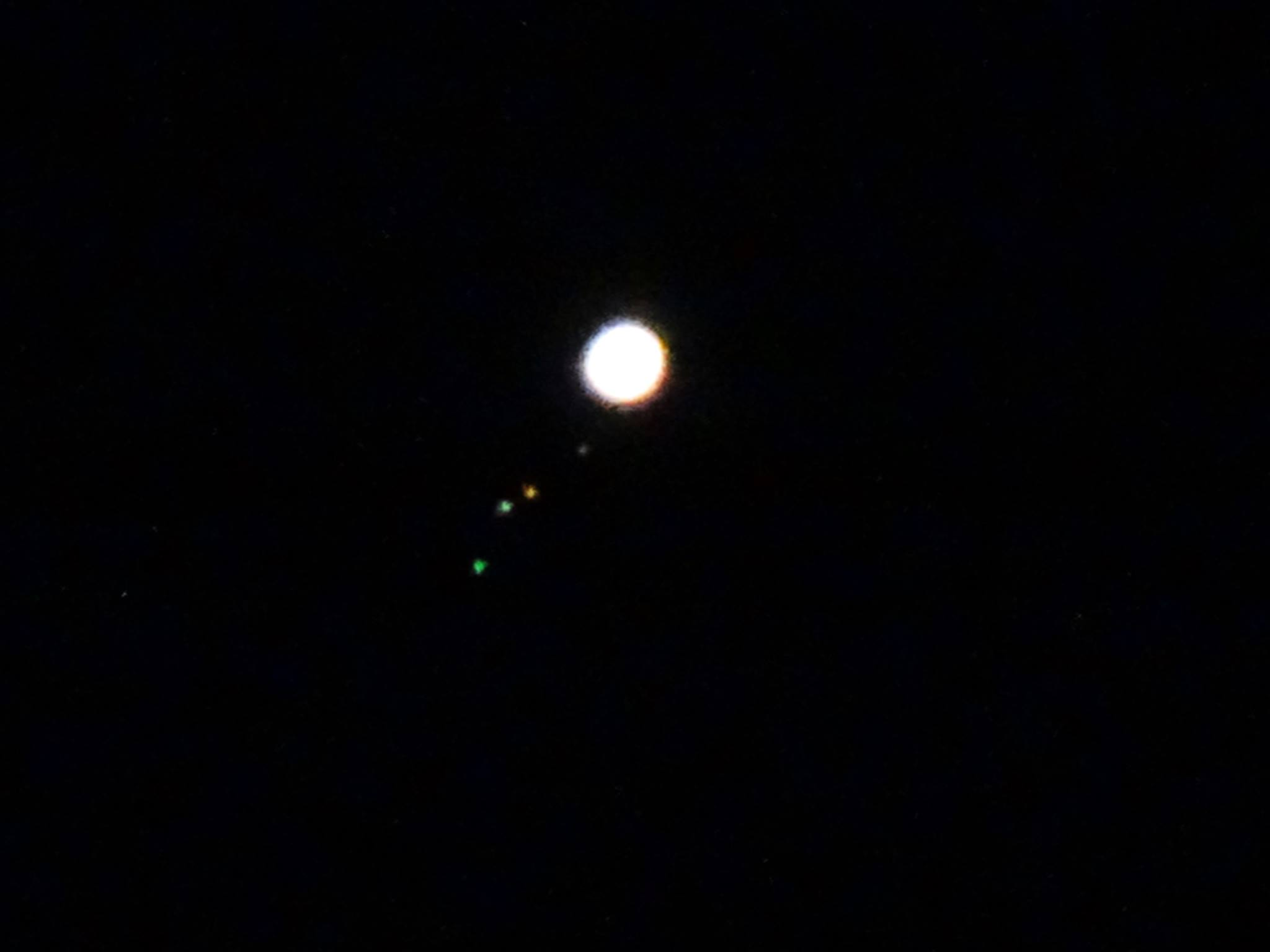 planet with four moons - photo #19